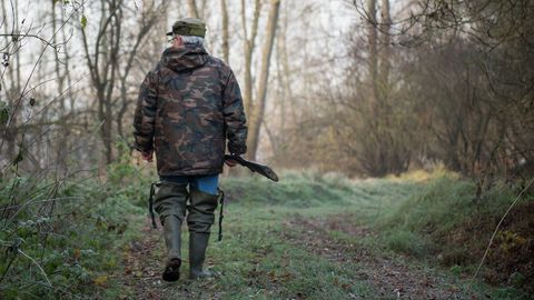 un-chasseur-marche-avec-son-fusil-le-9-decembre-2016-a-vouvray_5860797